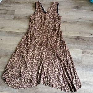 Tahari Animal Print Dress